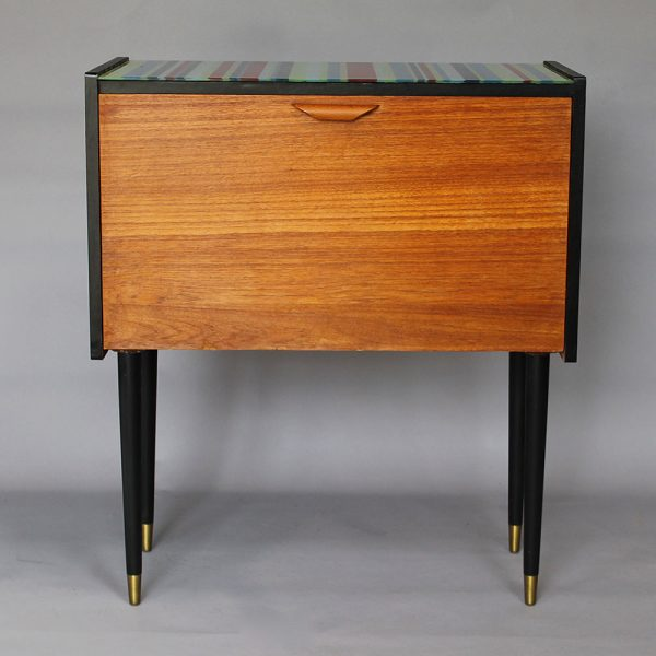 An Up-cycled 1960's record cabinet.