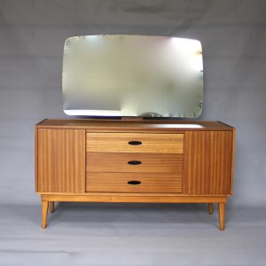 A 1960's Austinsuite dressing table possibly designed by Frank Guille
