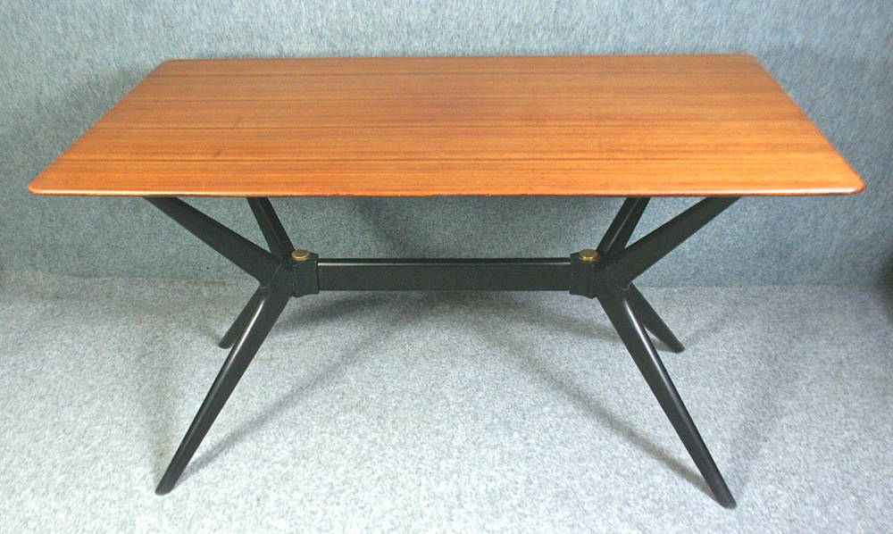 Vintage 1960 S G Plan Dining Table Model 341 And 4 Chairs